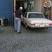 Vizsgaállomás Ornbauban. Sipi autóját itt szerelik majd