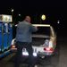 Első tankolás, talán az első európai tank benzin?