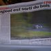 A lapok oldalakon keresztül nyomták a témát