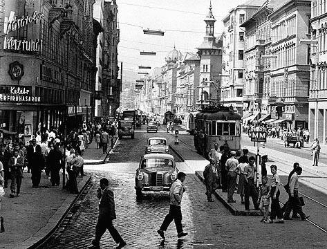 Rákóczi út, Budapest, Ponton