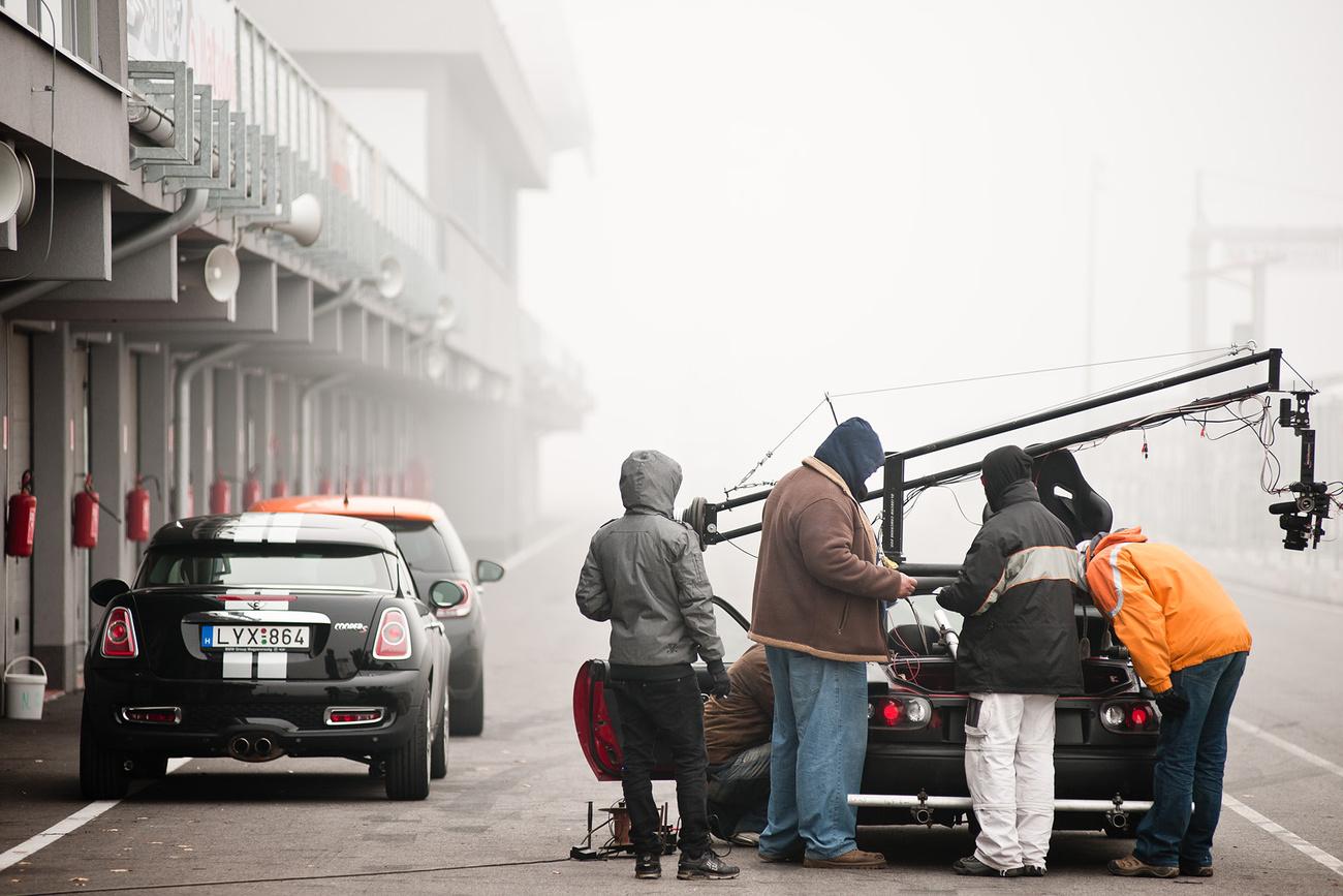 2. nap: Winkler büszkesége ez a kép: Minden autó rajta van
