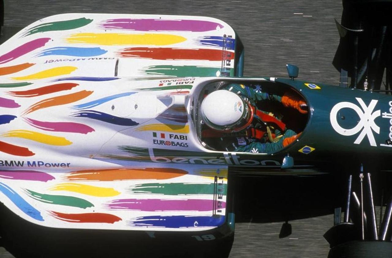 Teo Fabi a Benetton BMW-ben