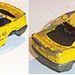 Jó fantázia kell hozzá, hogy egy laposra taposott Audi 90-ben meglássa valaki a Mazda 323-at