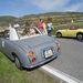 Nahát, egy Figaro! És milyen jól illik mellé az Austin-Healey Sprite. De a Figaro sokkal jobb a gyári, kis krómkupakos kerékkel