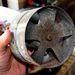 Bal oldali fűtőmotor elölnézete