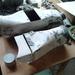 Készen a papír-epoxi test
