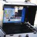 A drón számítógépes irányítópultja