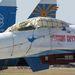 A Russzkie Vityazi kötelék repülőgépei nem éppen makulátlan külsejűek, de mikor a levegőben vannak, ez senkit nem érdekel, akkora show-t nyomnak
