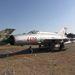 Korai, ezüst festésű MiG-21. Később rájöttek, nem baj, ha rejtőszínekkel mázolják a gépeket