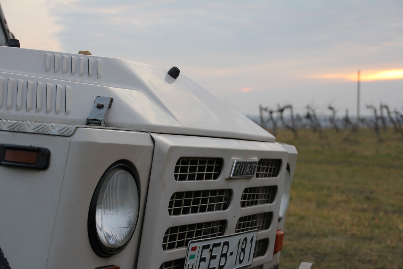 Naplemente Fiat Campagnolával