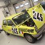 Első generációs Renault 5 versenyautó