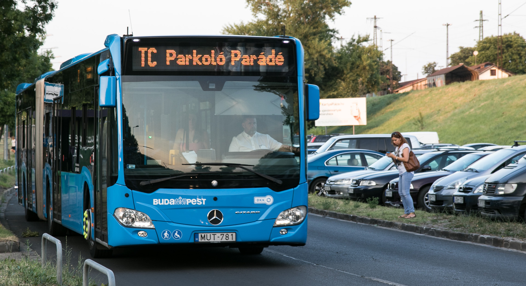 A VT-Arriva negyedóránként indította a Parkoló Parádé hivatalos járatát – hatalmas köszönet érte