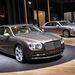 Íme a Bentley kis limója, amely az utolsó ilyen a VW Phaeton alapjain. A jövőben már az MLB-modulrendszert fogják használni a brit márkánál