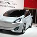 Ez a formavilág jobban állna a Mitsuknak. A kocsi egyébként a CA-MIEV, teljesen elektromos autó, 109 LE teljesítménnyel és 300 km-es hatósugárral