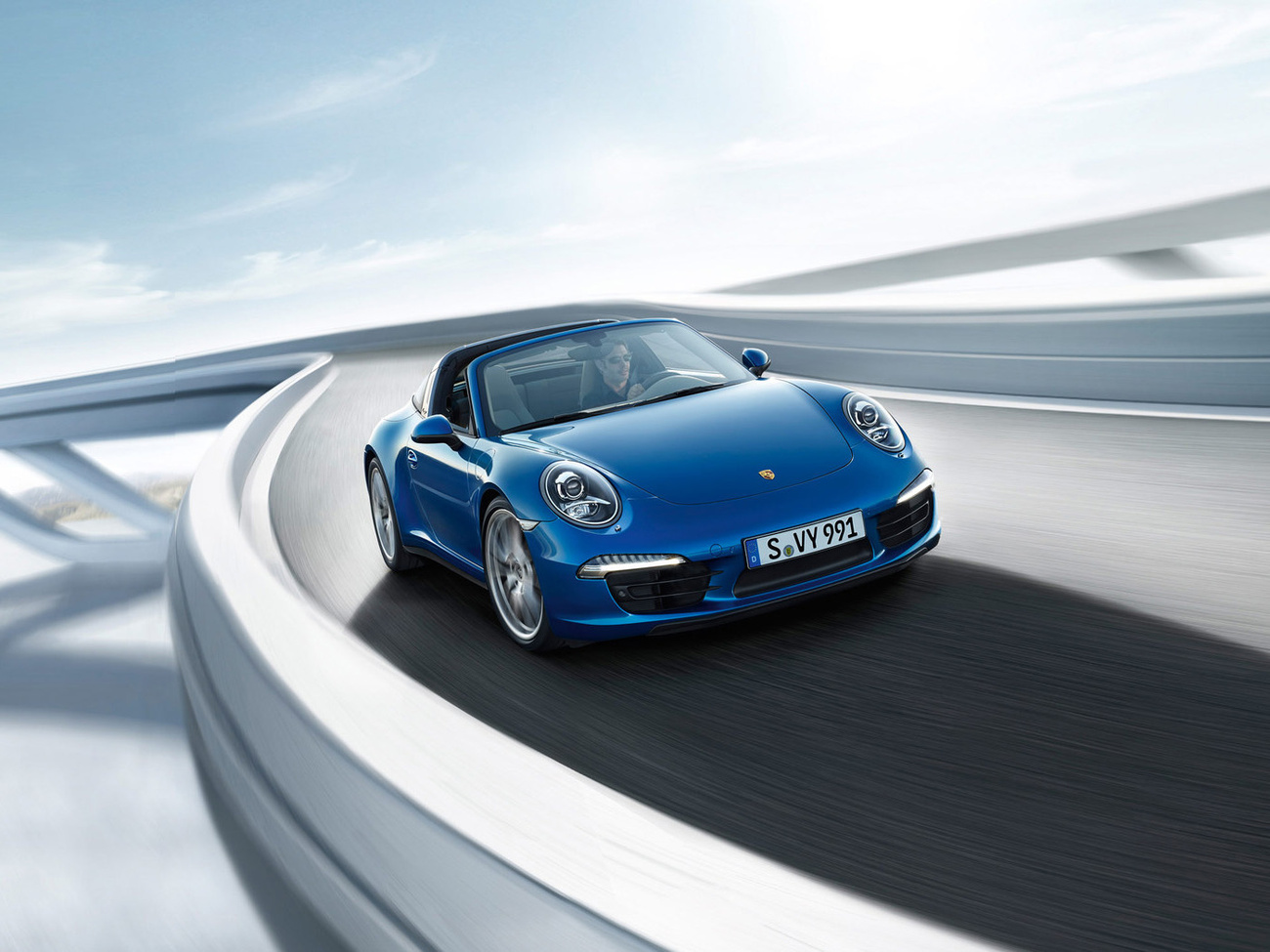 Totalcar Porsche 911 Targa 4 2014 Gal 233 Ria