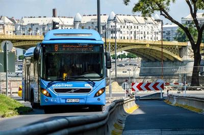 Az M6log Kft. telephelyén is honosítanak norvég Volvo buszokat