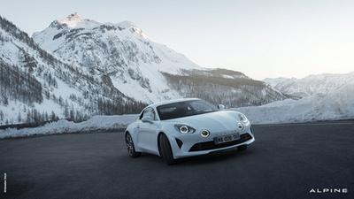 Az Alpine A110 Cup autókon nincs hátsó szárny