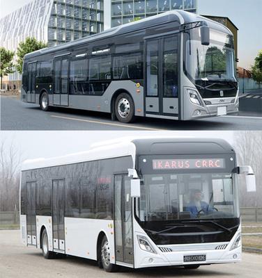 A CityPioneer (fotó: electrobus.hu