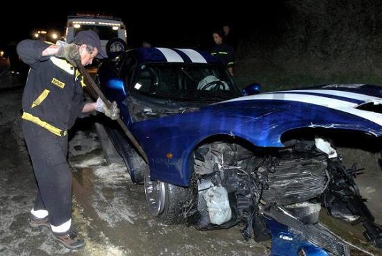 Egy Viper GTS esete a szlovák nemzeti vezérrel