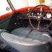 Egy bemozdult kép a Barnato-Bentley belsejéről. Nem lehet állványt és vakut használni