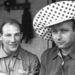 Balra Stirling Moss, jobbra Fangio