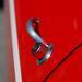 Primkó kilincs a Giulia Coupé 1300 GTA-n, hogy könnyű legyen