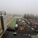 Nürburgring. Balról a mostani Grand Prix pálya, lenn meg a régi box, az Eifel Classic központja. What a feeling!