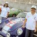 Ellen Lohr a DTM-ből és navigátora, Birgitt Dietel. A Colmar Berg szakaszt nyerték 1 hibaponttal. Porsche 356
