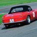 Autótörténeti ikon a Ferrari 250 SWB California Spider. Tanulmány hátulról. Itt sincs semmi, amibe bele lehet kötni.