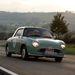 Nissan Figaro (1991) az Eifel Classic mezőnyében. Egyáltalán nem tűnt kakukktojásnak, szépen beleillett a képbe.