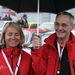 Rallye legenda, Harald Demuth és paralimpiás navigátora, a vak Verena Bentele az 55. helyen végeztek (Audi Quattro B2 az Audi Tradition csapatából).