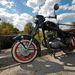 A tükör sem gyári, ez japán biciklire való