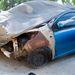 Két lopott autó között egy kiégett 107-es. Ki tudja, talán ez is hiányzik valakinek