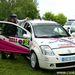 Rendőrnap, Városliget és egy szlovák rendszámú versenyautó. Forrás: Csókási fotó
