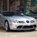 A legtöbb mérföldet a Mercedes SLR Mclarenbe tekerte