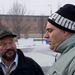 A két rutinos autós. Balra Marczi, a City Taxi munkatársa, jobbra Attila az S.O.S Autósiskolától