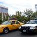 Vegasi hasznosságok: rendőrautó és taxi