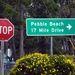 Kőgazdag sznobok lakhelye a 17 Mile Drive környéke, Pebble Beach neve többek között a veteránjárműves rendezvényekről ismert