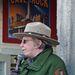 Idegenvezető néni az Alcatrazon. Magyar szemmel meglepő, hogy milyen sok idős ember végez teljes értékű munkát az USA-ban