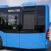 A motor a busz farrészében áll. Hathengeres, 11 ezer köbcentis, legalábbis a csuklós változatban