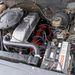 Már felújítás után a motor