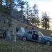 Táborunk a termálfürdő közelében