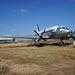 """Il-14T (HA-MAL), beceneve Malvinka.  eredetileg 04-es oldalszámot viselve a Szovjet Hadsereg Déli Hadseregcsoportjában, a Szovjet Légierő 226-os önálló vegyes repülőezredének kötelékében teljesített szolgálatot, a németországi Sperenberg repülőterén. 1981-ben kivonták a szolgálatból és az ukrajnai Mirgorodba repülték, ahol 6 évig tárolták, majd onnan 1987-ben Tökölre vitték. 1987. december 8-án Ferihegyre repülték, és az """"ős-skanzenben"""" tárolták 1991. október 20-ig, amikor jelenlegi helyére vontatták. Összes repült ideje 5928 óra. A repülőgép külön érdekessége a 2009–2010 év fordulóján teljesen civil szerveződésként indult felújítási munkák, amelyek célja kezdetben a repülőgép korhű Malév színekbe öltöztetése volt, de a felújító csapat látva a 25 éve leállított repülőgép viszonylag jó műszaki állapotát, a munkák folytatása mellett döntött. 2011. április 8-án sikeresen beindult a repülőgép jobb oldali, kettes hajtóműve, majd 2012. március 25-én a bal oldali, egyes hajtómű is életre kelt. (forrás: Wikipédia)"""