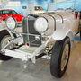 Korának (1928) leggyorsabb sportautója, a Mercedes SSK.
