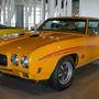 Elég igényes a múzeum izomautó-gyűjteménye is. Pontiac GTO-ból a talán leghíresebb, elég ritka verziójuk van: az 1970-es The Judge Ram Air III.