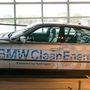 A BMW első V12-es üzemanyagcellás hidrogénautója.