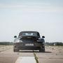 Kiegészítő program: gyorsulás álló helyzetből kétszázig, majd megállás padlófékkel. Az autó egy Carrera Turbo S
