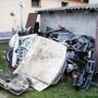 A lopott autók egy részét szétbontották