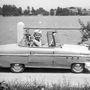 A Petrovics elnevezésű, benzinmotoros autó 1958-ban épült és először almazöld színű volt
