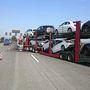 A múlt csütörtöki ütközésben legalább két új Mercedesen keletkeztek komoly sérülések
